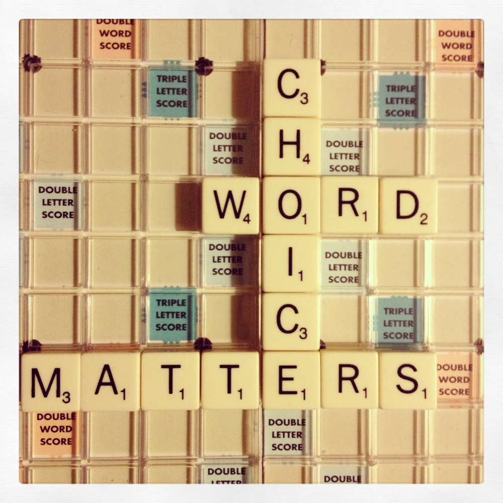 Word Choice - It Matters (1/2)