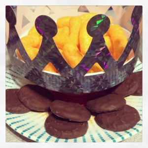 © 2013 the Jotter's Joint  - Oreo Fudge Cookies and Cheetos Cheese Puffs